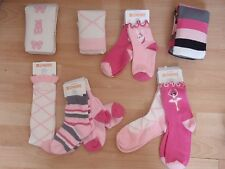 NWT GIRLS GYMBOREE SZ 12-24 MONTHS, 3-4 SOCKS TIGHTS GLAMOUR BALLERINA