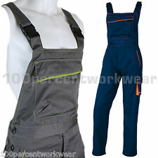 Delta Plus Panoply M6SAL Mens Work Bib and Brace Overalls Dungarees Trousers New