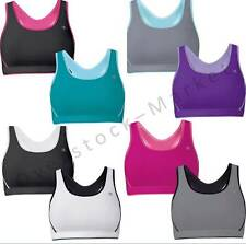 NEW WOMENS CHAMPION DOUBLE DRY SEAMLESS SPORTS BRA REVERSIBLE TO MESH VARIETY!