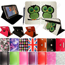 """Universal PU Leather Flip Case Cover Fits For Various 10.1"""" Inch Tablets +Stylus"""
