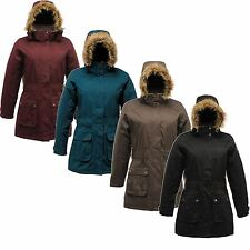 Regatta Foxtail Ladies Parka Coat Waterproof Insulated Jacket