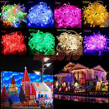 10/20/30/40/50M LED String Fairy Light Christmas Xmas Party Deco Waterproof New