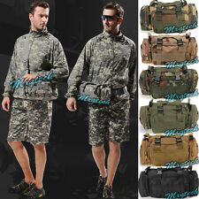 Utility 3P Tactical Waist Pack Pouch Military Camp Bag Molle Assault Backpack