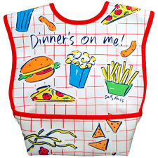 Dex Baby Dura Bib Large Stage 2 with Catch All Pocket and Lifetime Warranty