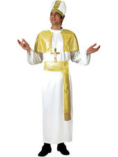 Adult Holy Father Mens Pope Bishop Cardinal Catholic Priest Fancy Dress Costume