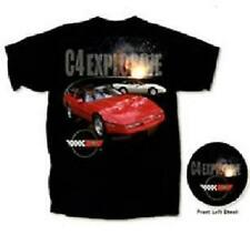CORVETTE C4 T-SHIRT ~EXPLOSIVE~ TWO VETTES C4 EMBLEM S-XL20.99+2XL FS NEW
