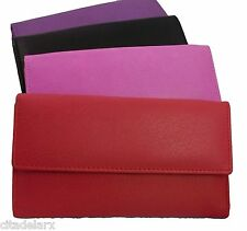 Mala Real Leather Ladies Purse Card Coin Womens New Large Soft Zip Wallet Bag