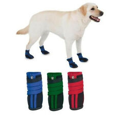 Zack & Zoey HIGH TOP NEOPRENE DOG BOOTS Red, Violet, Blue or Green
