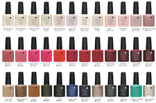 New!! CND Shellac Power Polish UV Gel Nail Color Coat *U PICK COLOR* Full Size!!