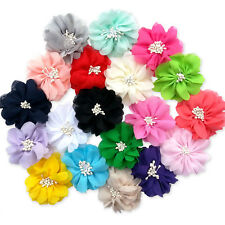 Cherry Blossom Flower Hair Clips Grips Bobbles. Wedding Bridesmaid Bridal Floral