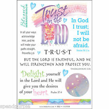 Timeless Transfers Biblical Verses Rub-Ons It Takes Two Scrapbooking 6 Choices