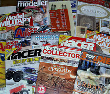 Magazine BACK ISSUES: Dolls house, Toy Soldiers, Scale Modelling Aircraft Cars &