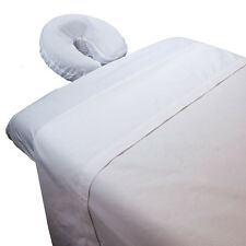 Body Linen Poly-Cotton Massage Table Sheet Set