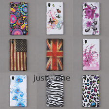 USA British flag/ Butterfly Skin Case Cover Shell for Sony Xperia Z1 L39H Honami