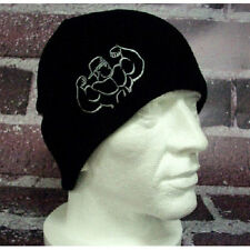 Ironworks Stone Embroidered Beany Hat Bodybuilding Clothing + FREE Delivery
