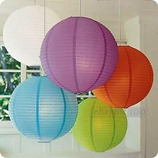 New Colorful Paper Lanterns Wedding Home Party Annual Dinner Decoration Assorted