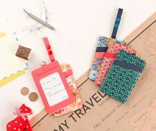 Pattern Travel Multi Name Card Case D Ring Holder Luggage Baggage Tag Ardium