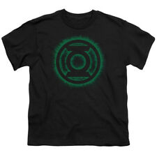 Green Lantern Logo Flame DC Comics Super Hero Big Boys T-Shirt Tee