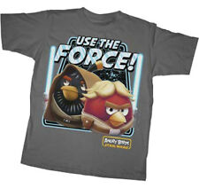 Angry Birds Star Wars Force Users Video Game Youth T-Shirt Tee