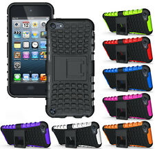 NEW GRENADE GRIP RUGGED TPU SKIN HARD CASE COVER STAND FOR iPOD TOUCH 5 5th GEN