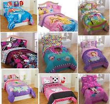Girls TWIN COMFORTER Childs Bed Room Disney Characters (Sheets sold separately)