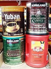 Extra Large Tub of Whole Bean / Ground Coffee ~ Pick One