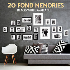 20 pcs Picture Photo Frame Set Wall 220 x 80cm Home Decor Valentine Gift Present