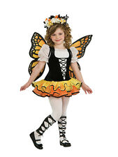 Kids Butterfly Fairy Tutu Princess Girls Fancy Dress Costume Party Outfit
