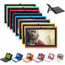 """iRULU 7"""" GMS Capacitive HD New Tablet PC Android 4.4 Quad Core 8GB w/ Keyboard"""