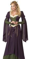 Womens Medieval Princess Queen Halloween Costume