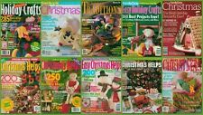 Christmas Magazine Family Circle Womans Day Holiday Issue Craft  Deco You Choose