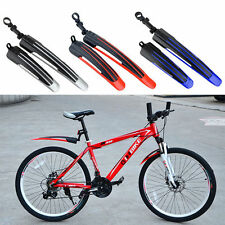 Bicycle Cycling Front Rear Mud Guards Mudguard Set Mountain Bike Fenders 7 Color