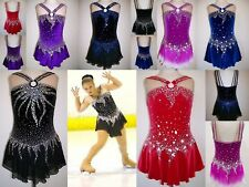 Ice / roller skating / TWIRLING BATON costume / robe de danse / tap Leotard-made to fit
