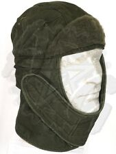 GI Olive Drab Green Army Insulating Helmet Liner Cold Weather Cap Snow Hat Good