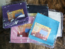 Solid Light-weight Saddle Blankets. Quality western horse tack.
