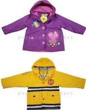 NEW! WESTERN CHIEF YOUNG BOYS & GIRLS FLEECE LINED RAINCOAT RAIN JACKET! VARIETY