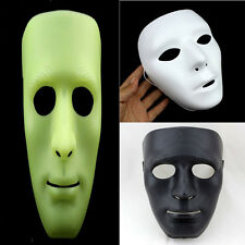 White/Black/Fluorescent Color JabbaWockeeZ Mysterious Mask With White Gloves