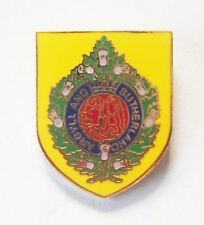 ARGYLL AND SUTHERLAND HIGHLANDERS SHIELD LAPEL PIN OR WALKING STICK MOUNT