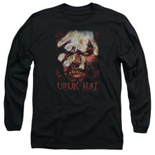 The Lord of The Rings Movie Lurtz Uruk Hai Stare Adult Long Sleeve T-Shirt Tee