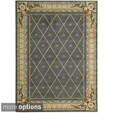 Ashton House Blue Wool Rug