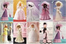 Paradise Crochet Collector Fashion Doll Historical Era Costume Pattern Booklet