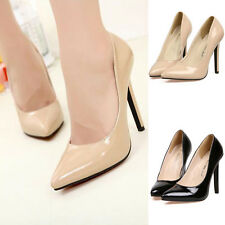 Ladies Office Work Court Prom Smart Red Carpet Classic Pumps Stiletto Heel Shoes