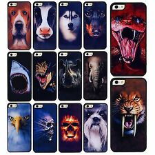 Multiple Draw Snack Tiger Skull Wild Animals Cover Case Fr Apple iPhone4S 5S 5C