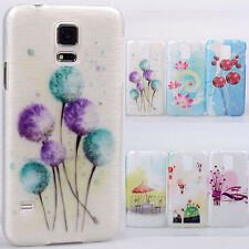 Various painted windy dandelion hard Case cover skin for Samsung GALAXY S5 i9600