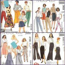 OOP McCalls Sewing Pattern Misses Skirt w Pants You Pick