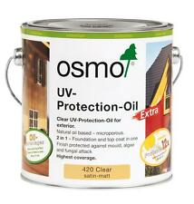 Osmo UV Protection Oil Extra 420 - Exterior Wood Oil - Next Day Delivery - 750ml