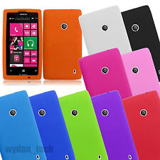 For Nokia Lumia Phones Silicone Gel Skin Flexible Case Soft Cover