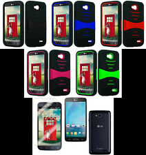 LG Optimus L90 / D415 (T-Mobile) Phone Cover PRO ARMOR U-Case + SCREEN PROTECTOR