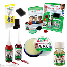 PROFESSIONAL SNAZAROO SPECIAL FX WAX MOULDING SCARS PROSTHETICS HALLOWEEN KIT