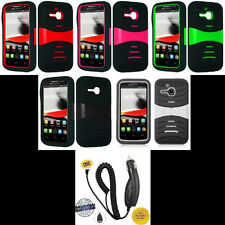 Alcatel One Touch M'Pop OT-5020 Phone Cover PRO ARMOR U-Case + CAR CHARGER